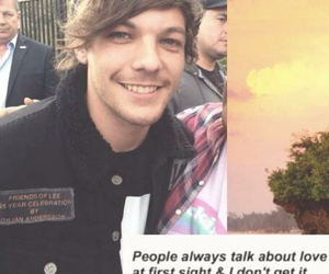 louis tomlinson, lookscreen, and one direction image