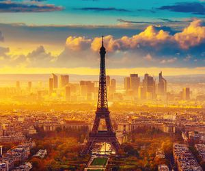 eiffel, peace, and torre image