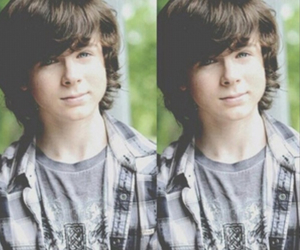 chandler riggs, twd, and the walking dead image
