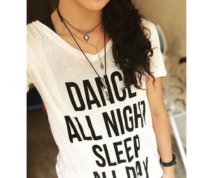 dance, night, and sleep image