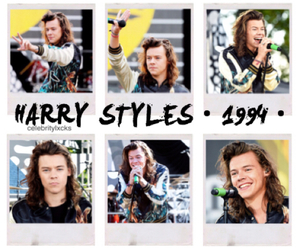 Harry Styles, 1994, and background image
