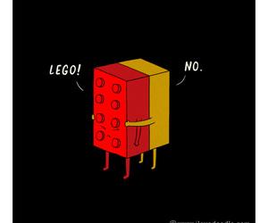 lego, funny, and hug image
