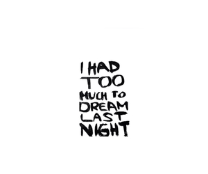 Dream and quote image