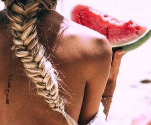 beauty, food, and hairs image