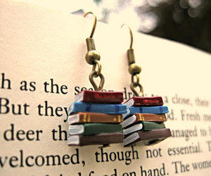 book and earrings image