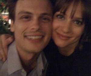matthew gray gubler, criminal minds, and aj cook image