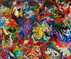 abstract, art, and paint image