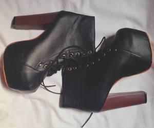 boot, dark, and grunge image