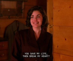Audrey Horne, grunge, and Twin Peaks image