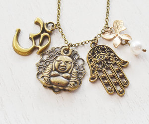 lotus flower, protection, and yoga jewelry image