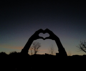 cool, heart, and photography image