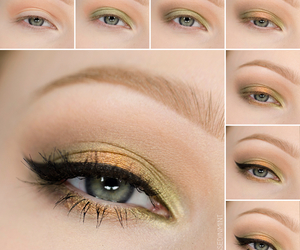 beauty, by, and eyes image