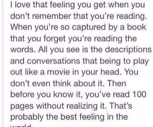 books, feeling, and reading image