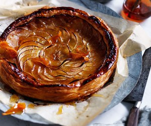 apple, puff pastry, and french image