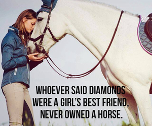 horse, diamonds, and riding image