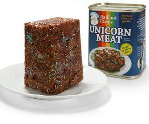 unicorn, meat, and unicorn meat image