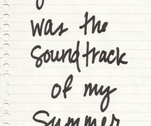 summer, quote, and voice image
