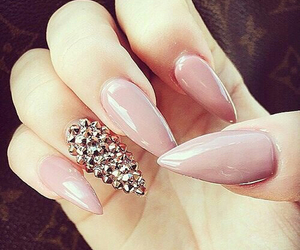 beauty, luxury, and nails image