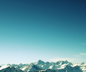 mountains, sky, and photography image