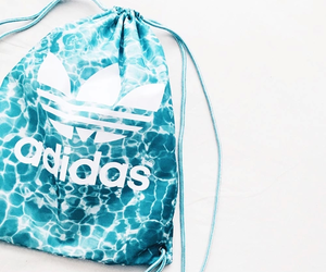 bag, adidas, and blue image