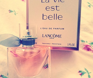 flower, la vie est belle, and lancome image