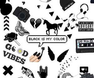 black, color, and wallpaper image