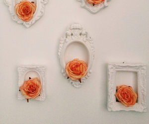 flowers, vintage, and wall image