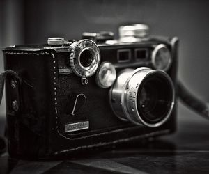 antique, black and white, and vintage image