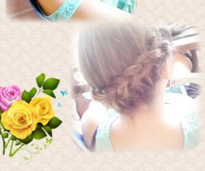 braids, hair, and pixie padlock image