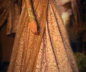 beautiful dress, glitters, and sparkling image