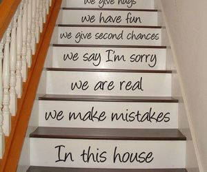 stairs, cool, and family image