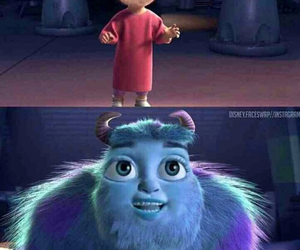 monsters inc, funny, and lol image