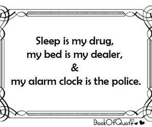 sleep, drug, and bed image