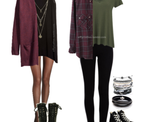 outfit, fashion, and hipster image