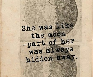moon and she image