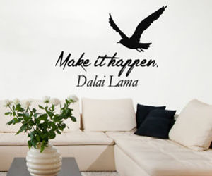 dalai lama and make it happen image