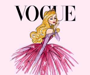 princess, vogue, and pink image