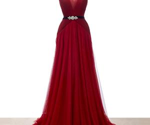dress, burgundy, and graduation image