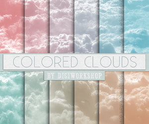 cloud, clouds, and color image