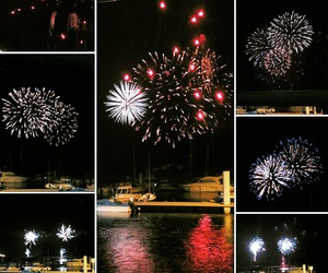 couleur, firework, and port image