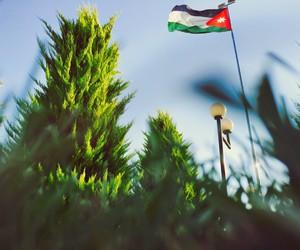 flag, jordan, and اﻻردن image