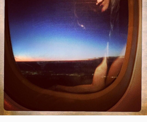couple, plane, and instagram image