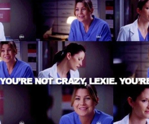 ellen pompeo, meredith grey, and chyler leigh image