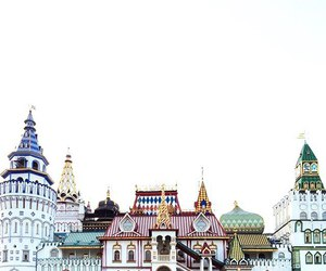 Houses, moscow, and russia image
