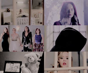 pretty little liars, aria montgomery, and spencer hastings image