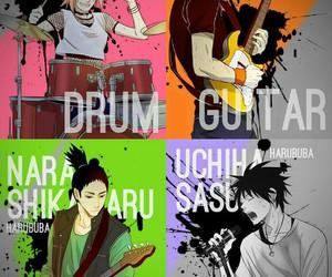 sasuke uchiha, sakura haruno, and naruto uzumaki image