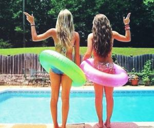 beautiful, bikini, and fun image