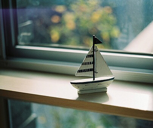 window, boat, and vintage image