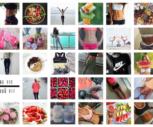 Collage, pictures, and fitspo image