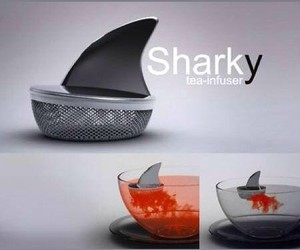 tea, shark, and cool image